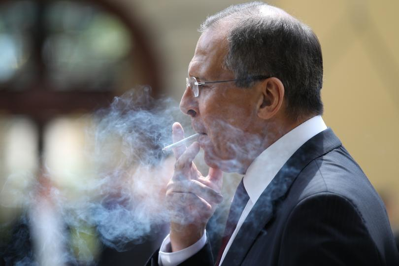preacher smoking